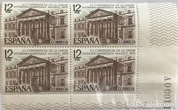 EDIFIL 2359 ** ESPAÑA 1976 UNION INTERPARLAMENTARIA B4 (Sellos - España - II Centenario De 1.950 a 1.975 - Nuevos)