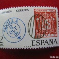 Sellos: 1974 DIA MUNDIAL DEL SELLO, EDIFIL 2179. Lote 173505357