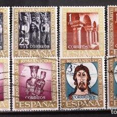 Sellos: 1365-68, DOS SERIES USADAS. ROMÁNICO.. Lote 173505553