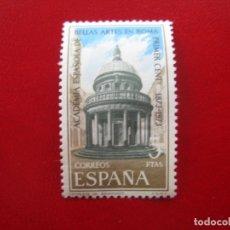 Sellos: 1974 CENT.ACADEMIA BELLAS ARTES EN ROMA, EDIFIL 2183. Lote 173521107