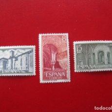 Sellos: 1974 MONASTERIO DE LEYRE, EDIFIL 2229/31. Lote 173521762