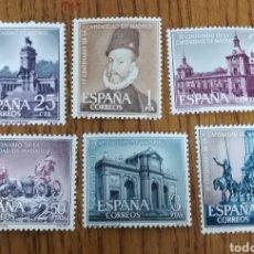 Sellos: ESPAÑA: N°1388/93 MH,MADRID (FOTOGRAFÍA ESTÁNDAR). Lote 209383340