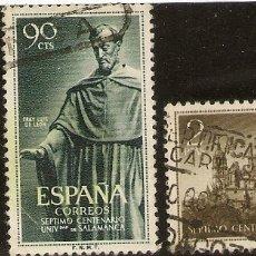 Sellos: ESPAÑA EDIFIL 1126/28 (º) UNIVESIDAD SALAMANCA SERIE COMPLETA 1953 NL1458. Lote 176326808