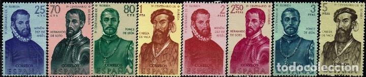 ESPAÑA 1960 - EDIFIL 1298/1305 SERIE COMPLETA (Sellos - España - II Centenario De 1.950 a 1.975 - Nuevos)