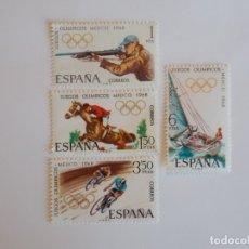 Timbres: JUEGOS OLÍMPICOS EN MEJICO 1968. Lote 177081722