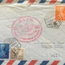 Sellos: CARTA DE JAÉN A NUEVA YORK AÑO 1951. Lote 177550063