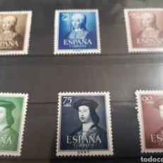 Sellos: SELLOS DE ESPAÑA NUEVOS AÑO 1951 Y 52 LOTE H35. Lote 177843089