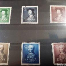 Sellos: SELLOS DE ESPAÑA NUEVOS AÑO 1951 Y 52 LOTE H36. Lote 177843138