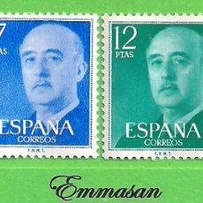 Sellos: EDIFIL 2225-2226-2227-2228. GENERAL FRANCO. (1974-75).** NUEVOS SIN FIJASELLOS - SERIE COMPLETA.. Lote 178117522