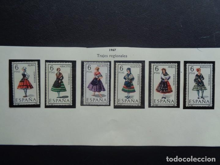 ESPAÑA 1967 TRAJES REGIONALES (Sellos - España - II Centenario De 1.950 a 1.975 - Nuevos)