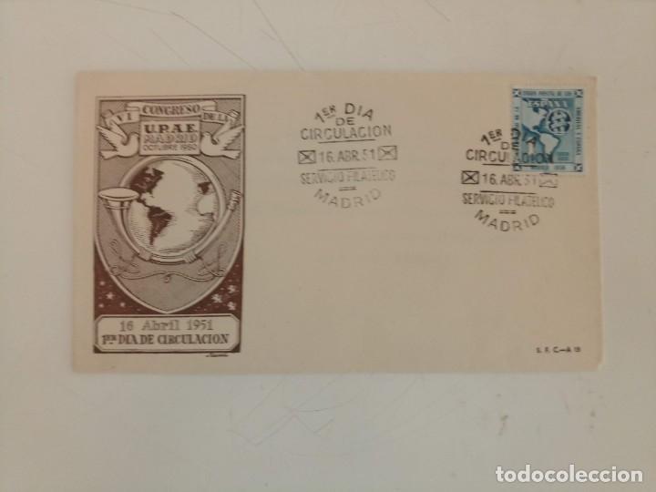 SPD CIRCULACION AÑO 1951 (Sellos - España - II Centenario De 1.950 a 1.975 - Cartas)