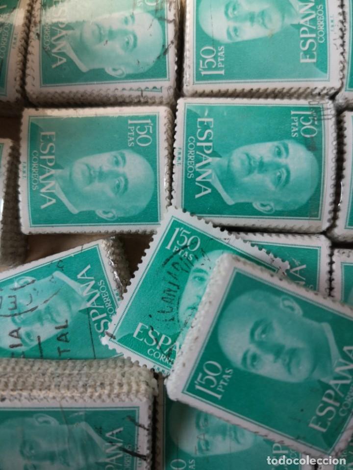 Sellos: Sellos usados época Franco más de 5000 sellos - Foto 2 - 178678661
