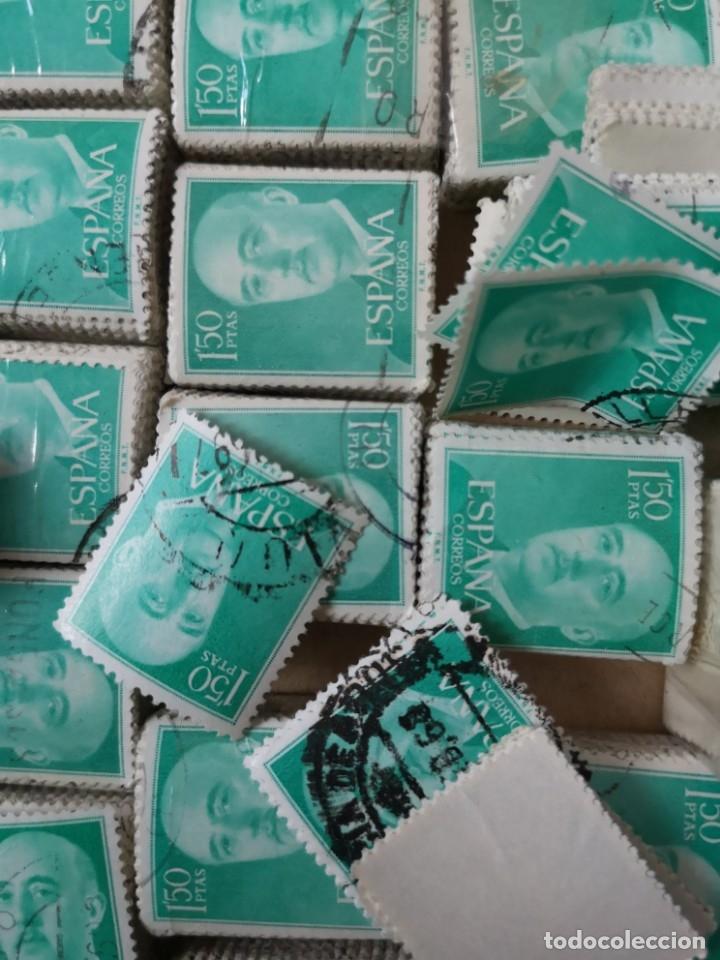 Sellos: Sellos usados época Franco más de 5000 sellos - Foto 3 - 178678661
