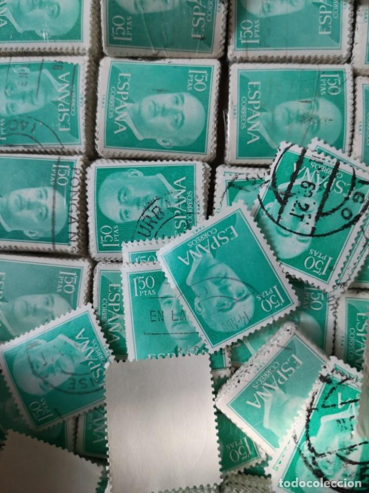 Sellos: Sellos usados época Franco más de 5000 sellos - Foto 4 - 178678661