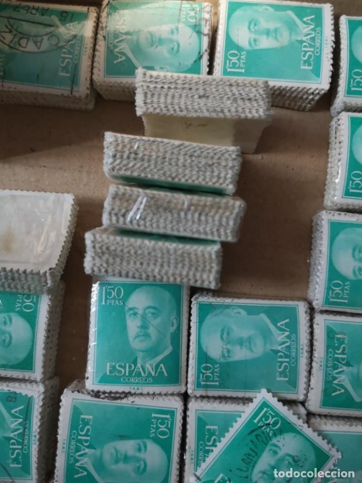 Sellos: Sellos usados época Franco más de 5000 sellos - Foto 6 - 178678661