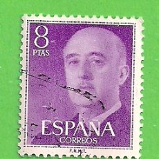 Sellos: EDIFIL 1162. GENERAL FRANCO. (1955-56).. Lote 178683002