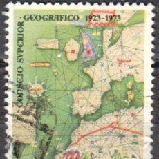 Sellos: ESPAÑA - UN SELLO - EDIFIL:#2172 - **L ANIVERSARIO CONSEJO SUPERIOR GEOGRAFICO** - AÑO 1974 -USADO. Lote 178794012