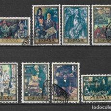 Sellos: ESPAÑA 1972 EDIFIL 2077/2084 - 6/23. Lote 179099375