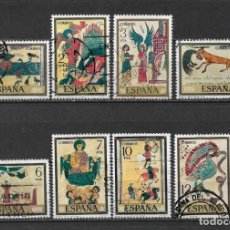 Sellos: ESPAÑA 1975 EDIFIL 2284/2291 - 6/23. Lote 179099615
