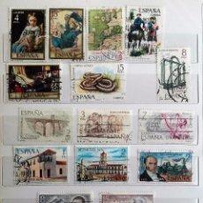 Sellos: ESPAÑA, 1974, 16 SELLOS USADOS DIFERENTES. Lote 179216825