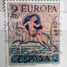 Sellos: ESPAÑA, 1973, 1 SELLO USADO, EUROPA 2 PTS. Lote 179239541