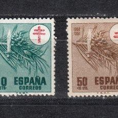 Sellos: 1950 EDIFIL 1084/87**/* NUEVOS CON Y SIN CHARNELA. PRO TUBERCULOSOS. Lote 180211398
