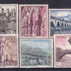 Sellos: 1965 EDIFIL 1643/52** NUEVOS SIN CHARNELA. SERIE TURISTICA. Lote 180261561