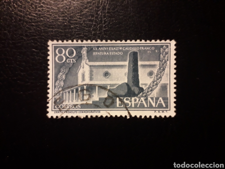 ESPAÑA. EDIFIL 1199 SERIE COMPLETA USADA. EXALTACIÓN JEFATURA DEL ESTADO 1956. (Sellos - España - II Centenario De 1.950 a 1.975 - Usados)