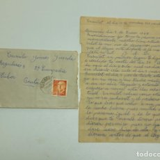 Sellos: 1965 CARTA CON SOBRE Y SELLO BENIARRÉS CEUTA. Lote 180293281
