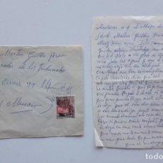 Sellos: 1966 CARTA CON SOBRE Y SELLO ARCHENA MULA. Lote 180293290