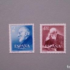 Sellos: ESPAÑA- 1952 - EDIFIL 1119/1120 - SERIE COMPLETA - MNH** - NUEVOS - LUJO - CENTRADOS - VALOR CAT.48€. Lote 234695775