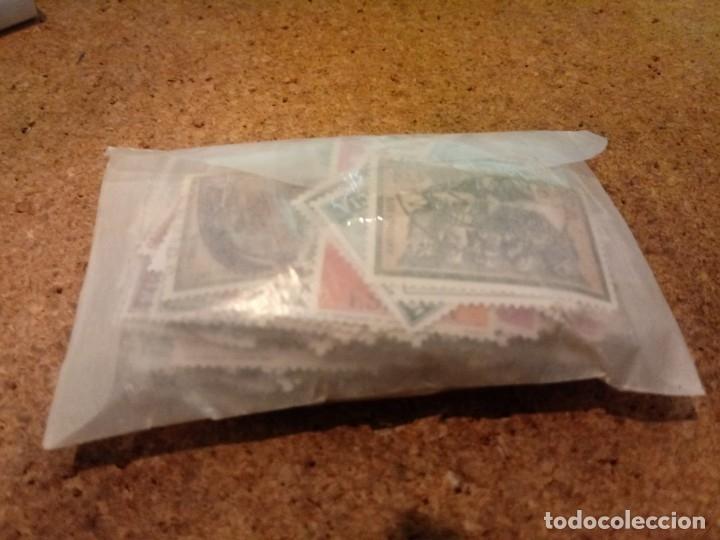 Sellos: LOTE DE 300 SELLOS DE ESPAÑA USADOS DIFERENTES - Foto 2 - 182332386