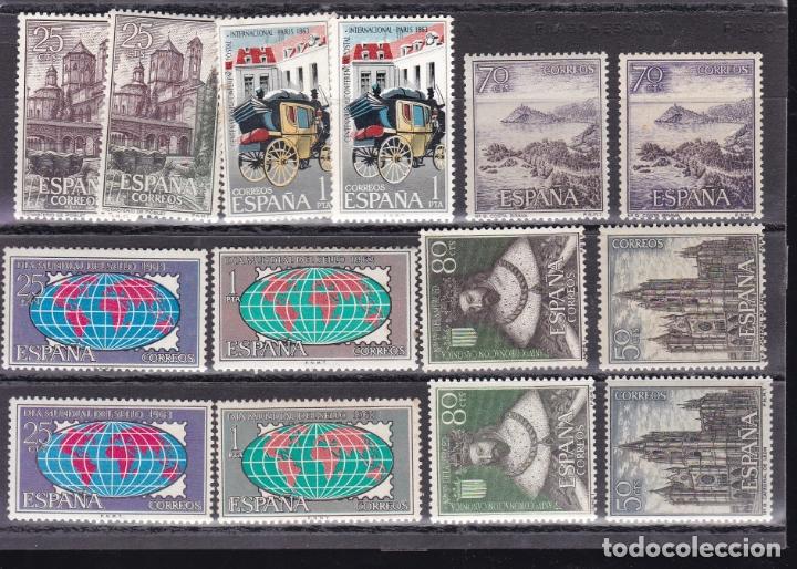 DD31-LOTE VARIEDADES NUEVOS. (Sellos - España - II Centenario De 1.950 a 1.975 - Nuevos)