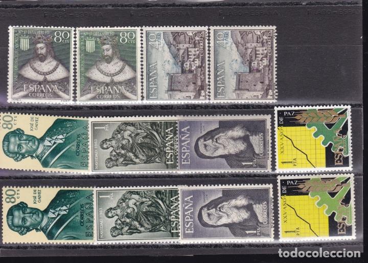 DD32-LOTE VARIEDADES NUEVOS. (Sellos - España - II Centenario De 1.950 a 1.975 - Nuevos)