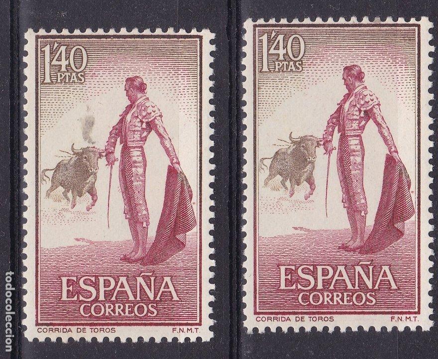CC4- TAUROMAQUIA 1.40 PTAS VARIEDAD ** SIN FIJASELLOS (Sellos - España - II Centenario De 1.950 a 1.975 - Nuevos)