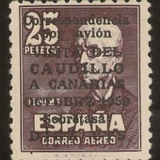 Selos: ESPAÑA EDIFIL 1083** MNH 10 CTOS.SOBRE 25 PTS VIAJE CANARIAS CERTIFICADO NL988. Lote 182571987