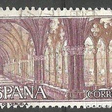 Sellos: ESPAÑA - 6 PESETAS - MONASTERIO DE VERUELA - AÑO 1967 - EDIFIL Nº 1836 - ESTADO PERFECTO - USADO. Lote 182706447