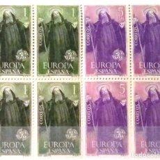 Sellos: EDIFIL 1675/76** BLOQUE DE 4 EUROPA-CEPT. Lote 183510496