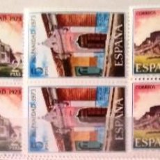Sellos: EDIFIL 2154/57** BLOQUE DE 4 - HISPANIDAD NICARAGUA. Lote 183512882