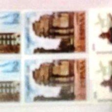 Sellos: EDIFIL 2213/16** BLOQUE DE 4 - HISPANIDAD ARGENTINA. Lote 183513006