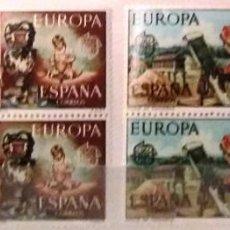 Sellos: EDIFIL 2316/17** BLOQUE DE 4 - EUROPA CEPT. Lote 183513602