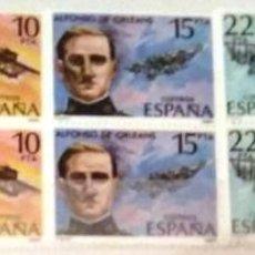 Sellos: EDIFIL 2595//98** BLOQUE DE 4 - PIONEROS DE LA AVIACION. Lote 183516338