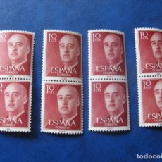 Sellos: 1955, GENERAL FRANCO, EDIFIL 1143. Lote 184132567
