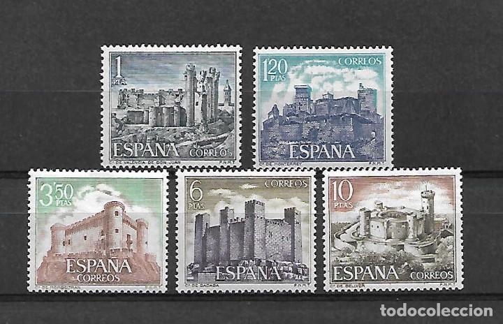 CASTILLOS DE ESPAÑA. EMIT. 24-6-1970 (Sellos - España - II Centenario De 1.950 a 1.975 - Nuevos)