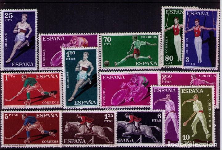SELLOS DE ESPAÑA AÑO 1960 DEPORTES SELLOS NUEVOS** (Sellos - España - II Centenario De 1.950 a 1.975 - Nuevos)