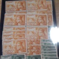 Sellos: SELLOS NUEVOS DE ESPAÑA AÑO 1951 ED.1097 Y 1098 VALOR CAT 220 € LOT. T08. Lote 184792095