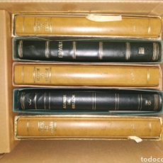Sellos: SELLOS SERIES COMPLETAS 1962 A 1992, 6 ÁLBUMES. 324 HOJAS. Lote 184862087