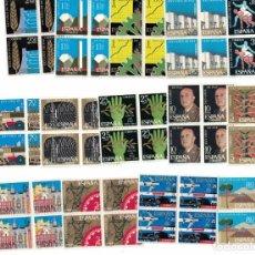 Francobolli: ESPAÑA EDIFIL Nº 1576/89 AÑO 1964 XXV AÑOS DE PAZ ESPAÑOLA BLOQUE DE 4 SERIE COMPLETA. Lote 239594645