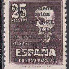 Sellos: ESPAÑA, 1950 EDIFIL Nº 1083, VISITA DEL CAUDILLO A CANARIAS, CERTIFICADO COMEX. . Lote 185980885