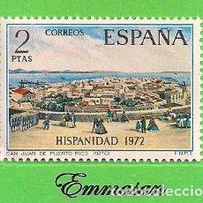 Sellos: EDIFIL 2108. HISPANIDAD. PUERTO RICO - SAN JUAN DE PUERTO RICO. (1972).** NUEVO SIN FIJASELLOS.. Lote 186005847